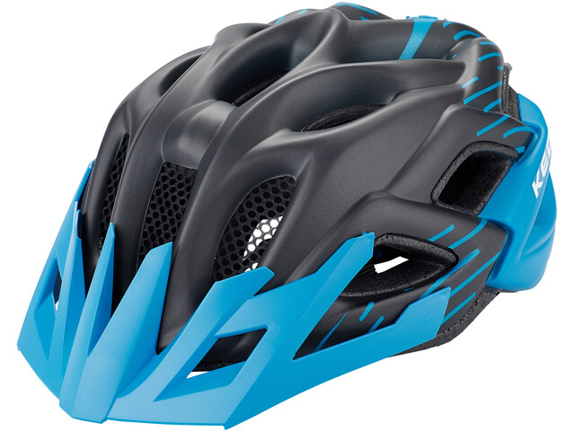 KED Status Jr. Casco Niños, black blue matt